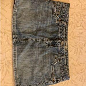 Garage jean skirt size 7